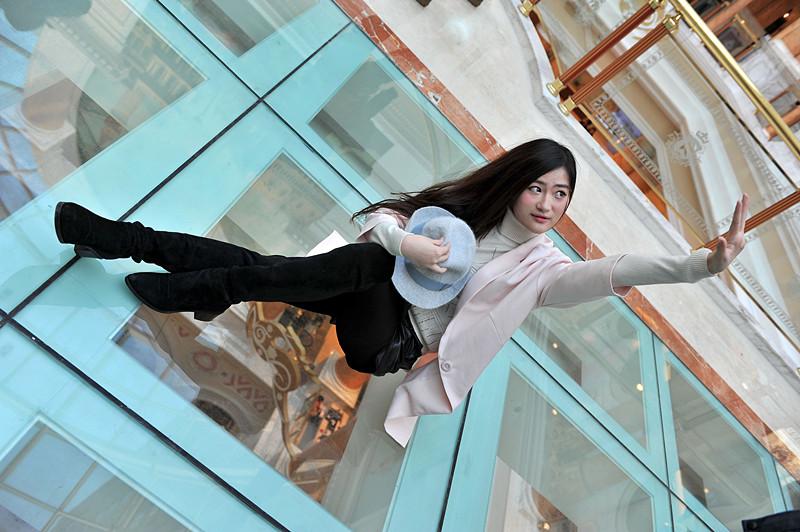 环球港模特人像写真3